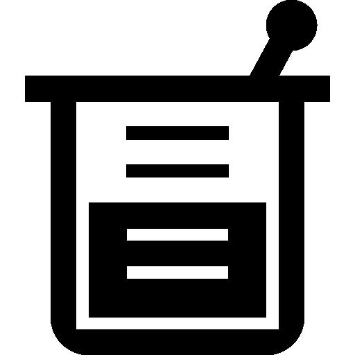 Solution in a beaker